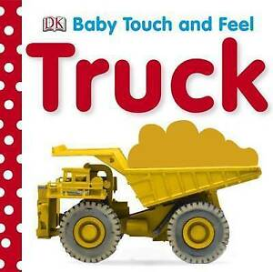 BABY TOUCH AND FEEL TRUCKS  BOOK NEW