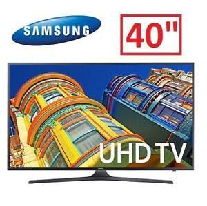 "NEW SAMSUNG 40"" 4K UHD TV - 121741612 - UN40KU6290"