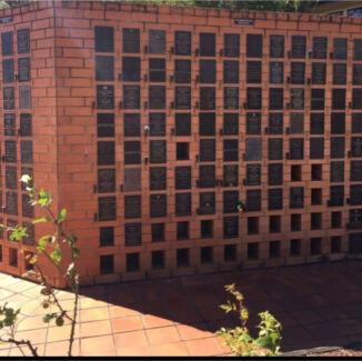 Crematorium Double Wall Niche Plot for $2,200 (saving $760) Brisbane