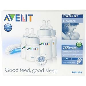 Philips-AVENT-SCD271-00-Newborn-Baby-Bottle-Starter-Set-Kit-Pack-Brand-New