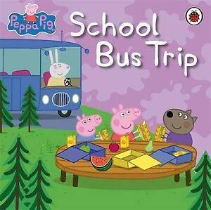 Peppa-Pig-School-Bus-Trip-Ladybird-Used-Good-Book