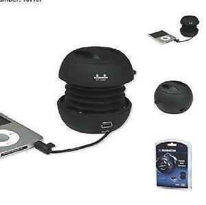 Manhattan Mobile Mini Travel Speaker - Black