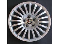 "Alfa Romeo 16"" new wheel trims/ hub caps"