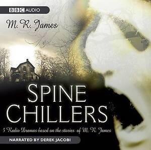 SPINE CHILLERS - M R JAMES CD AUDIO BOOK - NEW/UNSEALED DEREK JACOBI