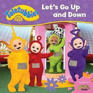 Teletubbies Let's Go Up and Down by Egmont UK Ltd (Board book, 2016) NEW