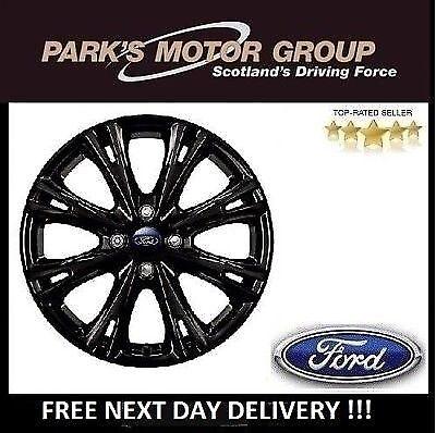"""Genuine New Ford FIESTA MK7/8 Black Red Edition Y Design 17"""" Alloy Wheel-1870824"""