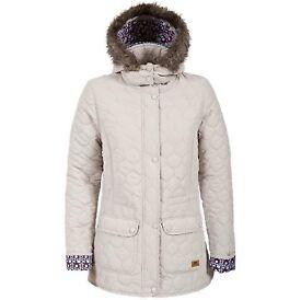 *NEW* Trespass Jenna Womens Casual Jacket Stylish Zip Up Coat XL