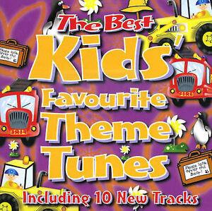 The Best Kids' Favourite Theme Tunes, Audio