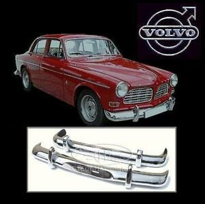 On sale!!! - Volvo Amazon stainless steel bumpers, P120 P121 P122 P 120 121 122