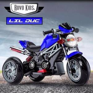 ⚑ NEW LIL DUC™ KIDS 6V RIDE ON MOTORBIKE WITH SHOCK ABSORBER Adelaide Region Preview
