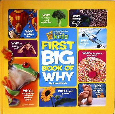 First Big Book of Why by National Geographic Little Kids