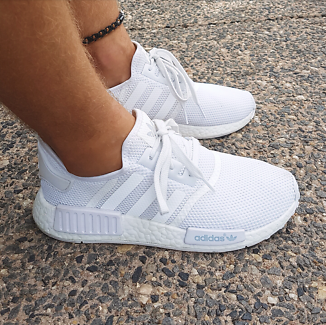 Adidas NMD US 8 triple white