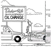 Mobile Oil Change