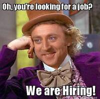 PERFECT STUDENT SUMMER JOB, OVER AVERAGE WAGE