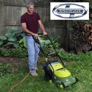 "USED* SUN JOE 14"" LAWN MOWER - 131791128 - 12-Amp Electric LawnMower With Grass Bag"