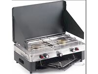 Higear Double Burner With Grill