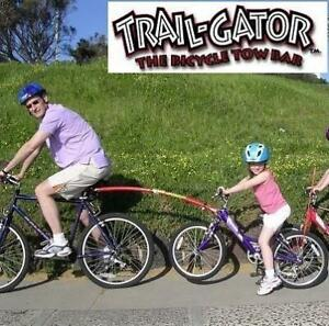 NEW TRAIL-GATOR BICYCLE TOW BAR 640020 250030058 RED TRAILER TOW BAR KIDS BIKE