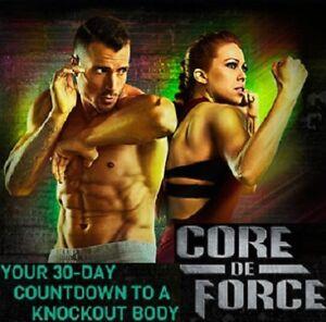 """Beachbody Joel & Jericho's """"Core De Force"""" Workout Fitness"""