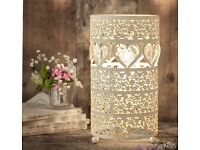 Heart Table Lamp (BNIB)
