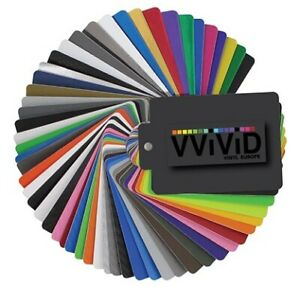 Avery & 3M Vvivid Vinyl Bubble-Free Wrap Suppliers