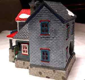 Christmas village house for sale. Beautiful red roof when lit. Kitchener / Waterloo Kitchener Area image 5