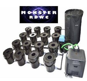 16 bucket fully automated rdwc systems for sale hydroponics