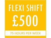fIXED EARNING PER WEEK (Free Company CAR + FUEL + INSURANCE)