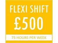 WEEKLY CASH-IN-HAND FIXED EARNING + COMMISSION - BARNET- PCO DRIVERS ONLY