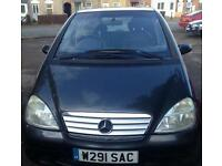 2000 Mercedes A190 Spares or repair