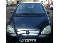Reduced price!!! 2000 Mercedes A190 Spares or repair