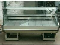 2metre display fridge good for butcher kabab meat salad cakes and many more