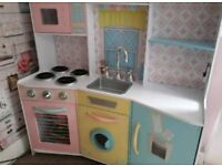 Kids kitchen and lots of accessories