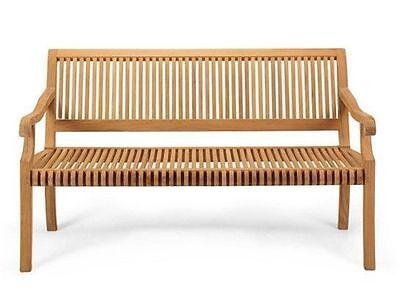 A GRD TEAK 4 FEET SEATING OUTDOOR ...