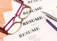 Resume/Cover letter writing services