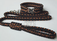 Handcrafted Paracord Dog Collars/Leashes/Slip Leads
