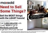 MaxSold - Need To Sell Selling, Downsizing, Estate Sales, Moving