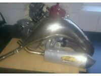 FMF Gold Series exhaust (complete)
