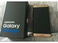 Samsung Galaxy 7s Edge Gold Brand New (ONLY BOX IS OPEN)