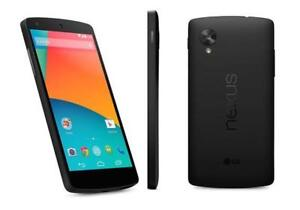 The Cell Shop has an LG Nexus 5 Unlocked to all providers including Freedom Mobile