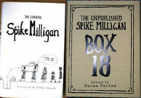 Spike Milligan books, 50p - £2.50