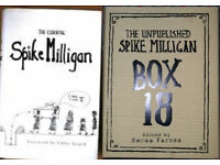 Spike Milligan books, 50p - £2.50