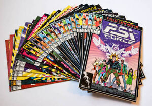 PSI Force: Issues 1-24 (Marvel, 1986)