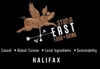 Studio East is looking for a cook!
