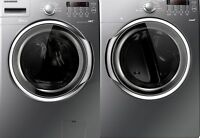 SAMSUNG washer & dryer - top-of-line, excellent condition