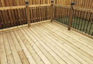 Rothesay area deck builders