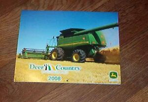 2008 Deer Country John Deere Calendar
