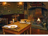 Relief Chef for Pub near Pickering £13ph