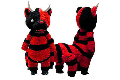 Beezle Red devil Plush zombie punk goth horror doll monster scary