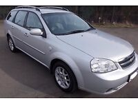 Chevrolet Lacetti 1.6 SX Estate Car 08 Reg,, Nice Clean Car MOT June 2017