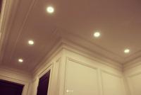 VIP Classic ~ Crown Moulding & Potlight Installation